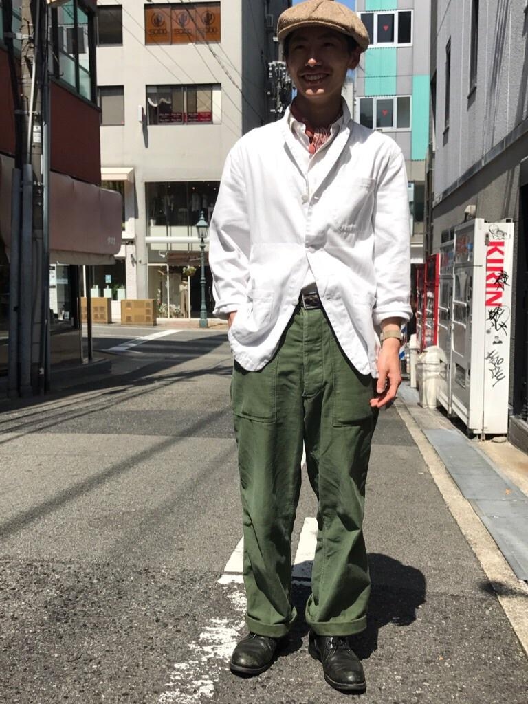 雨天時にも、気分良く過ごせるジャケット! (T.W.神戸店)_c0078587_14174971.jpg