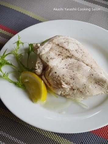 サラダチキン / 茹で鶏のマスタードドレッシング_f0361692_15173515.jpg