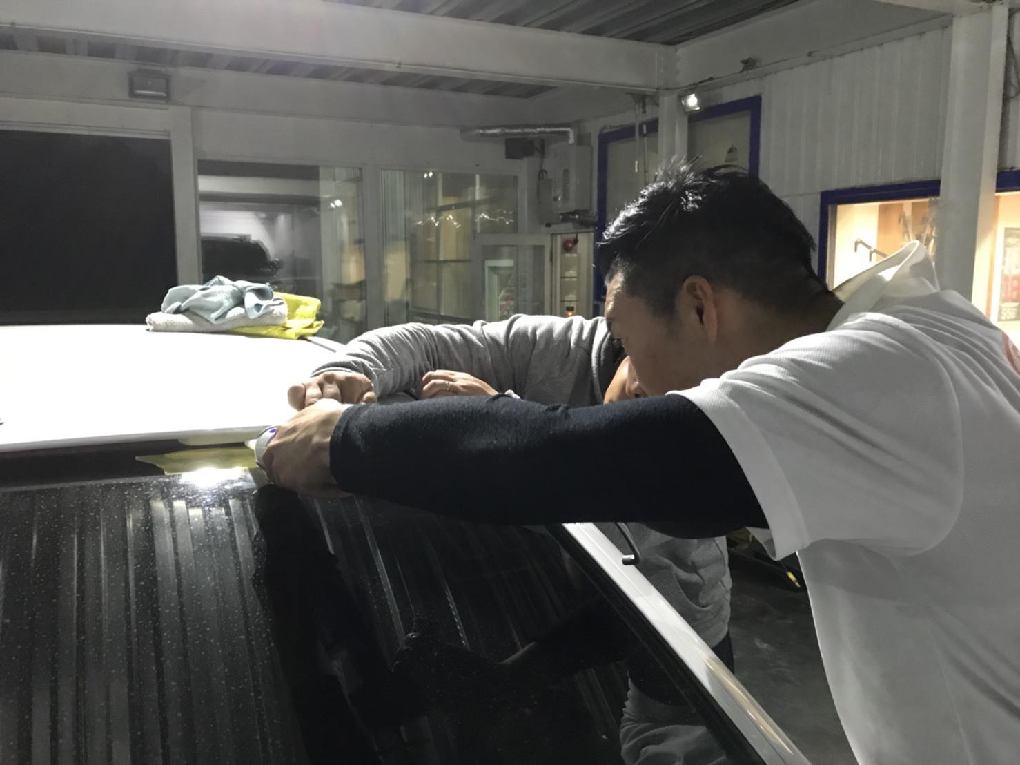 6月5日(火)トミーベース カスタムブログ☆ハマー LX570 ヴェルファイア 納車準備中☆_b0127002_11521910.jpg