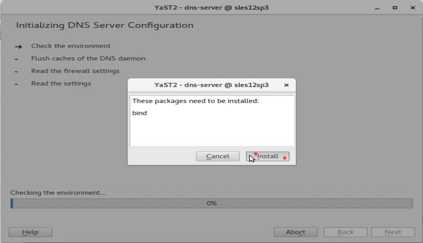 速攻 1分で DNS on SUSE12 by YaST(YaST で DNS のインストール)_a0056607_14500688.jpg