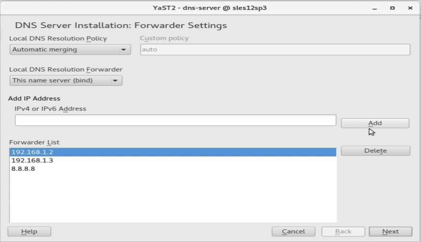 速攻 1分で DNS on SUSE12 by YaST(YaST で DNS のインストール)_a0056607_14502555.jpg
