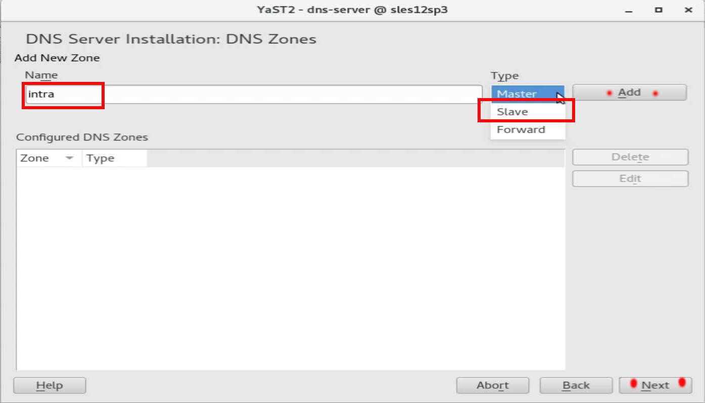 速攻 1分で DNS on SUSE12 by YaST(YaST で DNS のインストール)_a0056607_14504214.jpg