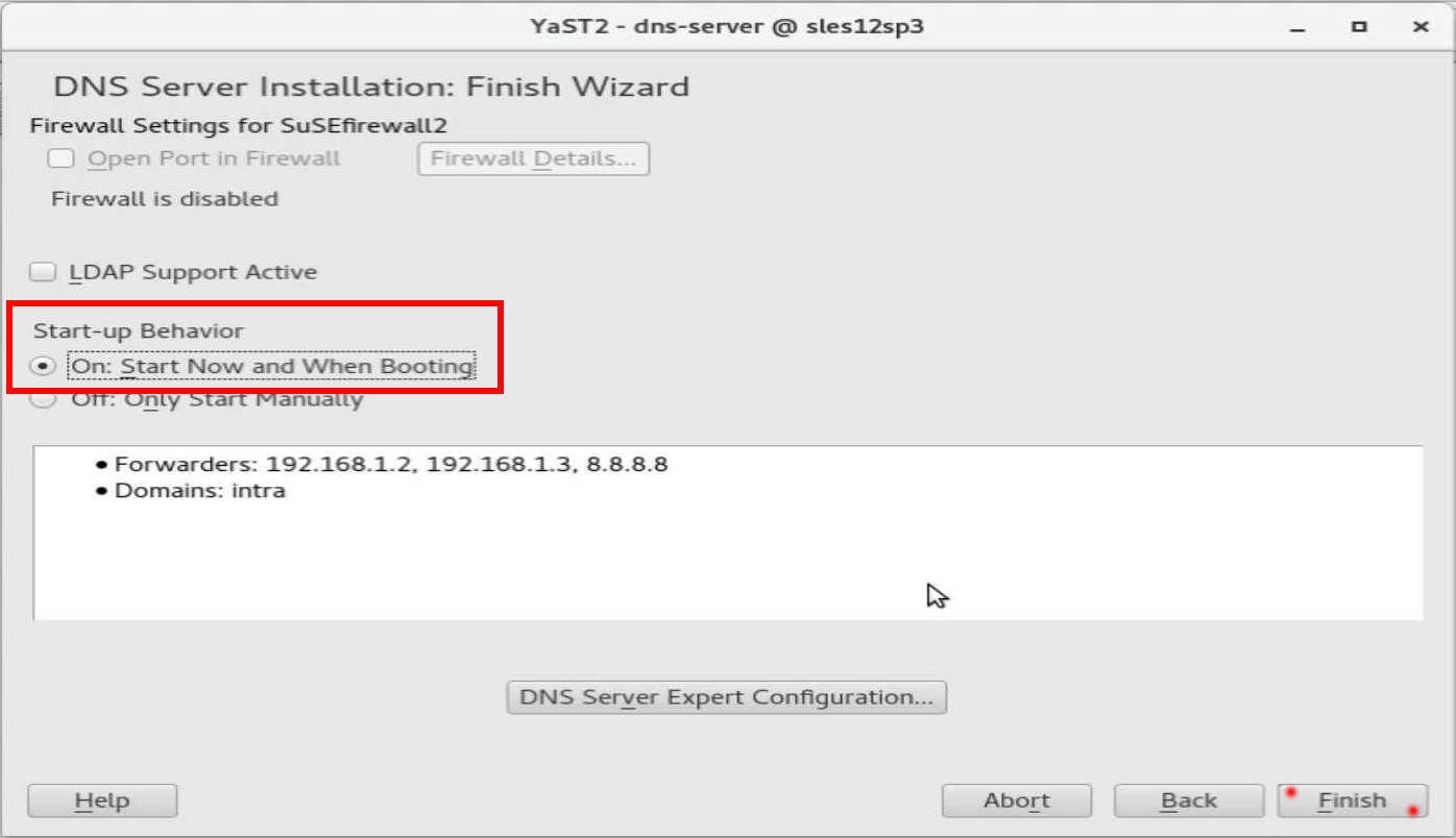 速攻 1分で DNS on SUSE12 by YaST(YaST で DNS のインストール)_a0056607_14512276.jpg
