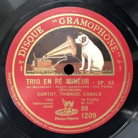 カザルス・トリオ/シューマンのピアノ三重奏曲第1番ニ短調op.63_a0047010_15590484.jpg