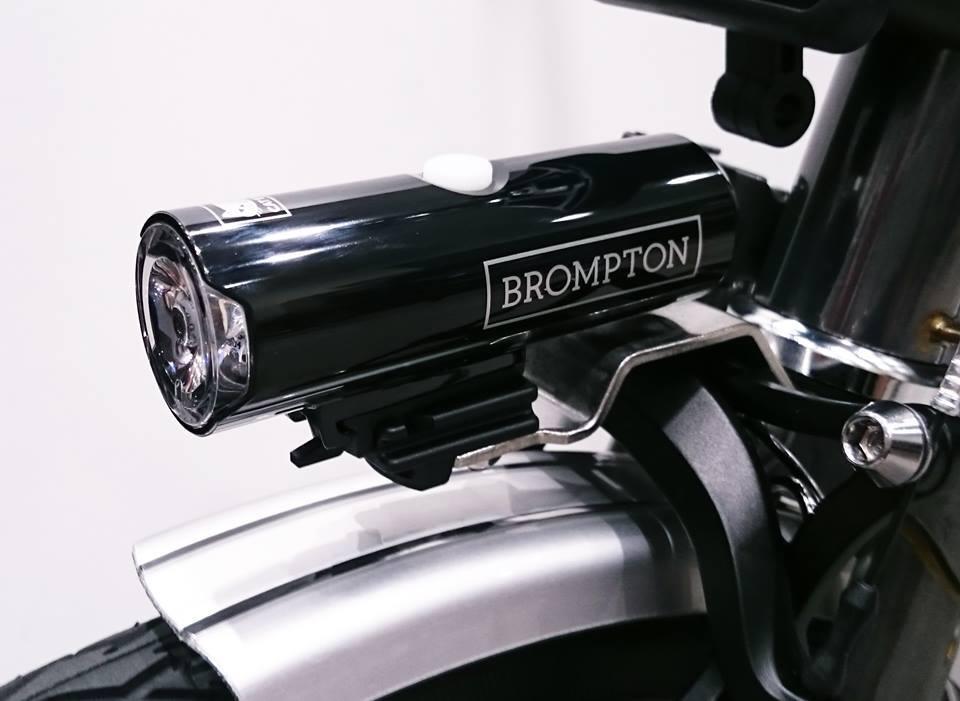 BROMPTON × CATEYE Newフロントライト_c0359041_17044863.jpg