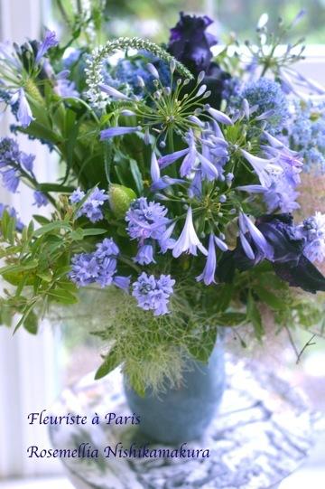Fleuriste à Paris パリのお花屋さんレッスン_d0078355_10135863.jpg