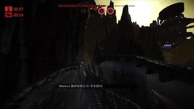 ゲーム「EVOLVE Krakenでハンター殲滅(ハンター側有利設定」_b0362459_16175577.jpg