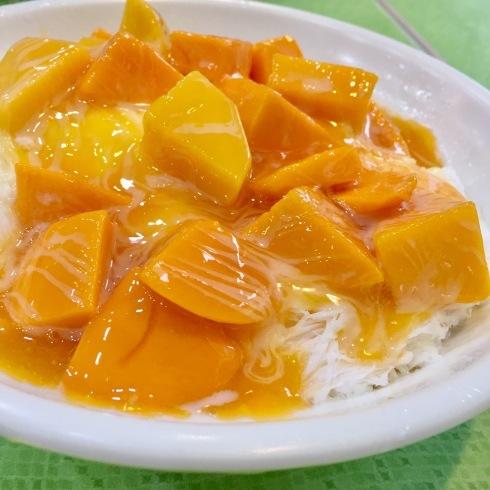台北旅行 5 冰讃☆ピンザンのマンゴーかき氷は美味しいな~_f0054260_16221390.jpg