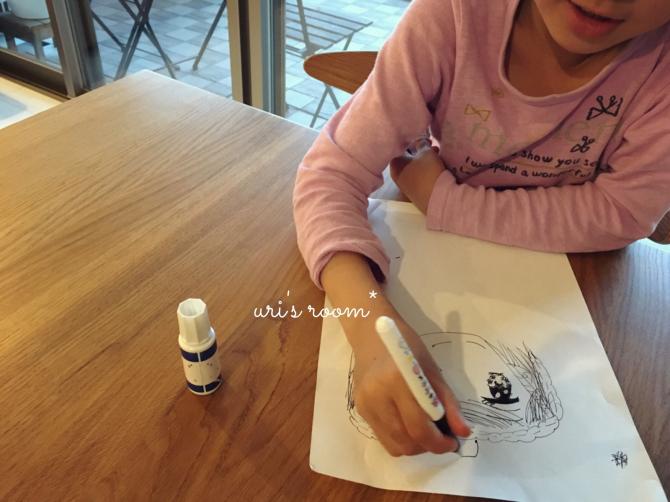 以前に買ったHAYトレイ、現在。それから…少女漫画家になりたい(かった)親子のお絵描き。_a0341288_00165116.jpg