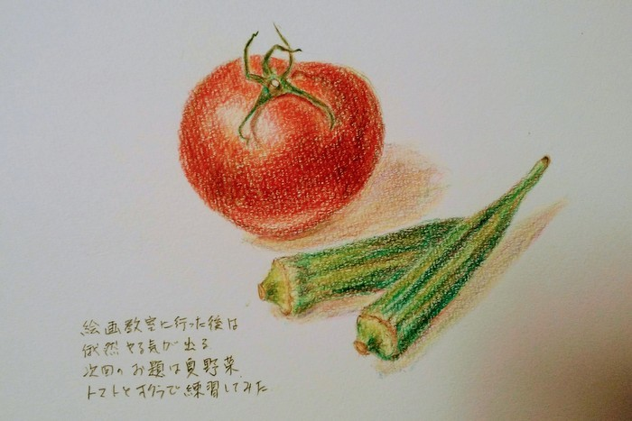 夏野菜の練習_c0038434_18573289.jpg