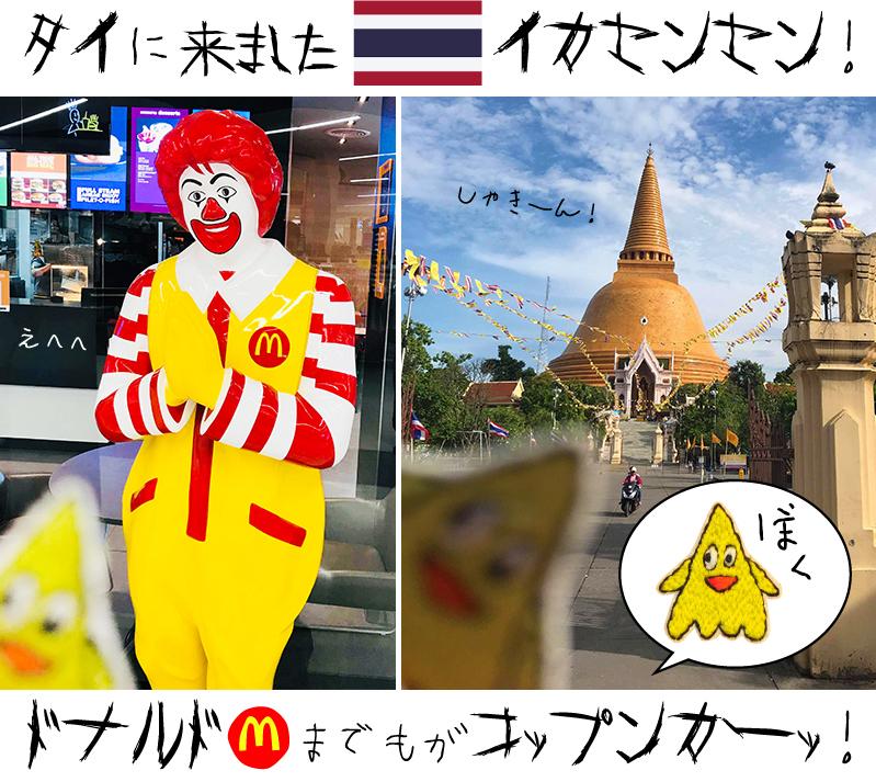 旅行代行旅行組合 [act.105]:「イカセンセン」タイに来たらドナルドまでもが「コップンカーッ!」_d0018646_22413462.jpg