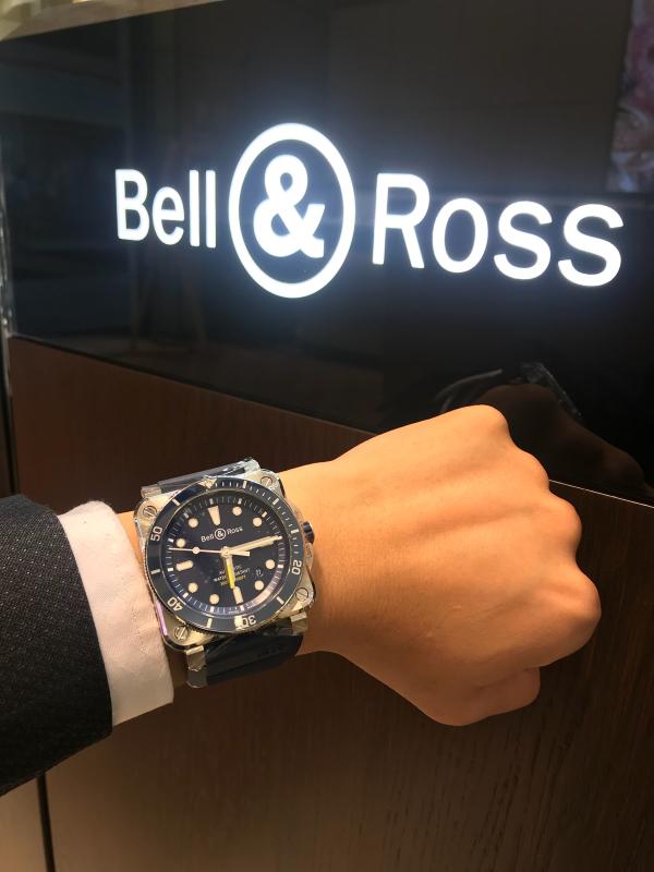 Bell & Ross 2018新作  BR-0392 Diver_b0327972_16345498.jpg
