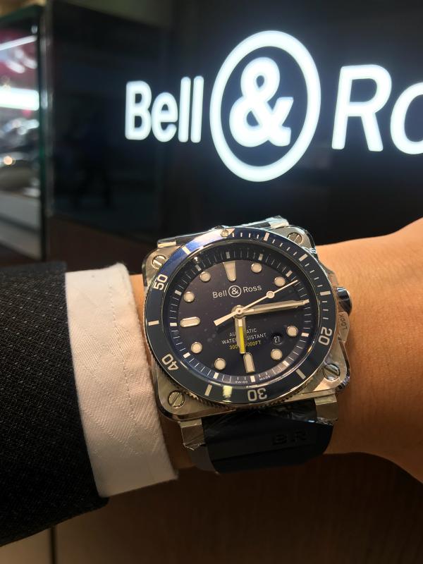 Bell & Ross 2018新作  BR-0392 Diver_b0327972_16345792.jpg