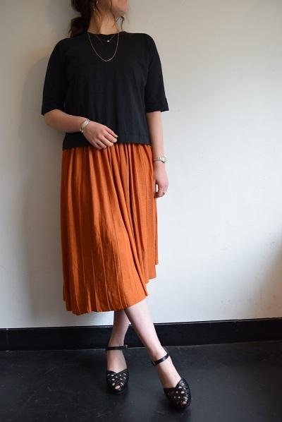スカート スカート プリーツスカート    。_b0110586_09393607.jpg