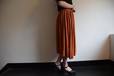 スカート スカート プリーツスカート    。_b0110586_09551354.jpg
