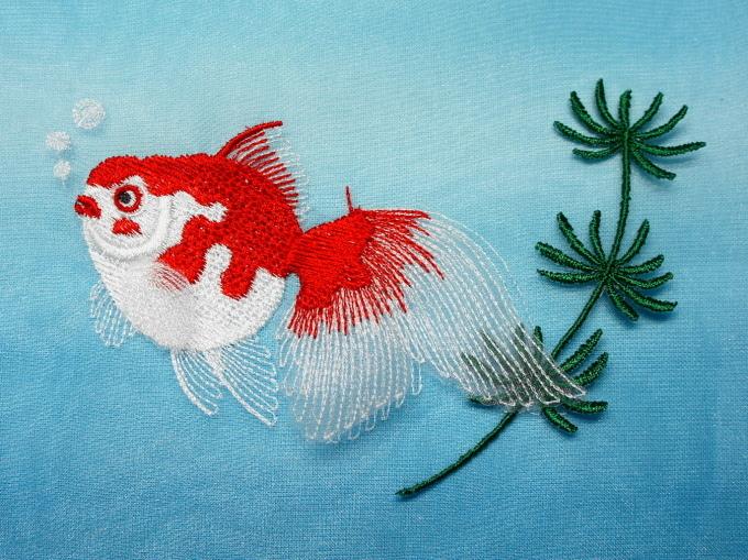 がま口用金魚さんの制作_e0385587_12453841.jpg