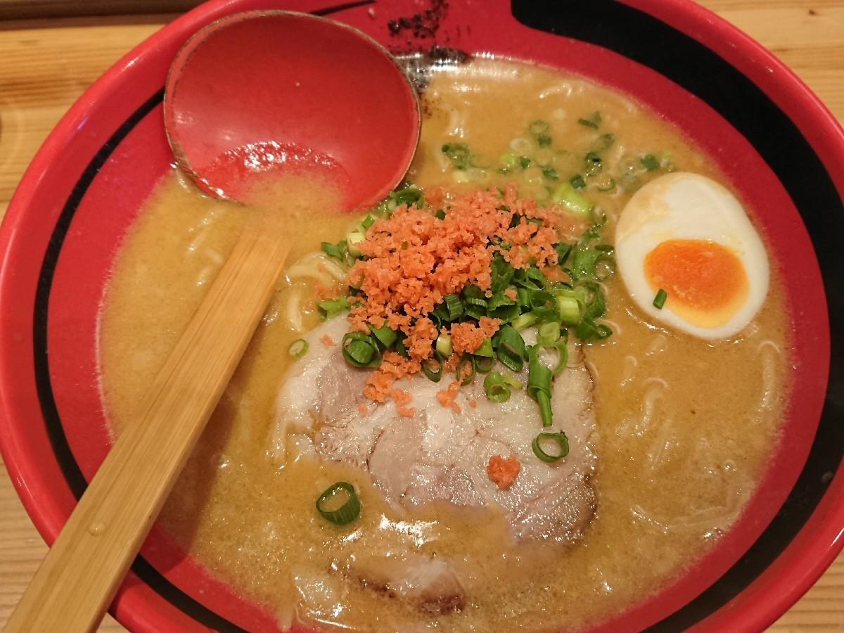 6/7  えびそば一幻新宿店  あじわい醤油細麺¥780_b0042308_18523706.jpg