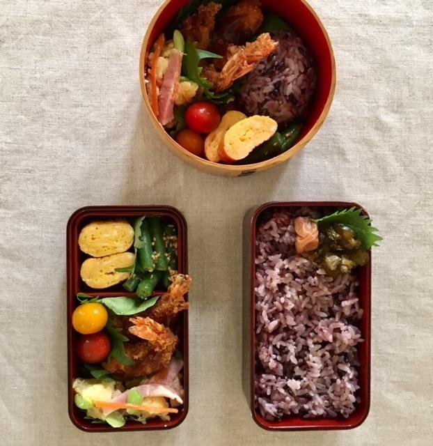 lunch box ×3   気づけばフライ尽くし_a0165160_16475402.jpg