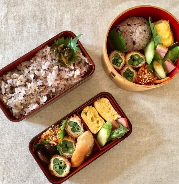 lunch box ×3   気づけばフライ尽くし_a0165160_16505993.jpg