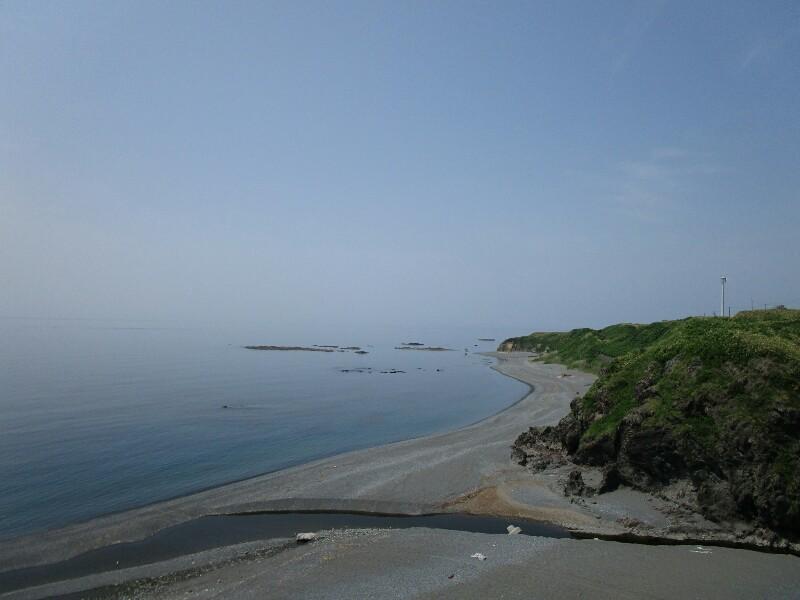 47日目【知内温泉−江刺町】橋の下には絶景がひろがっていました。いろんな出会いもありました。_e0201281_20023258.jpg