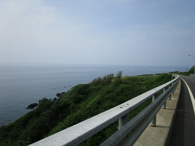 47日目【知内温泉−江刺町】橋の下には絶景がひろがっていました。いろんな出会いもありました。_e0201281_20024402.jpg
