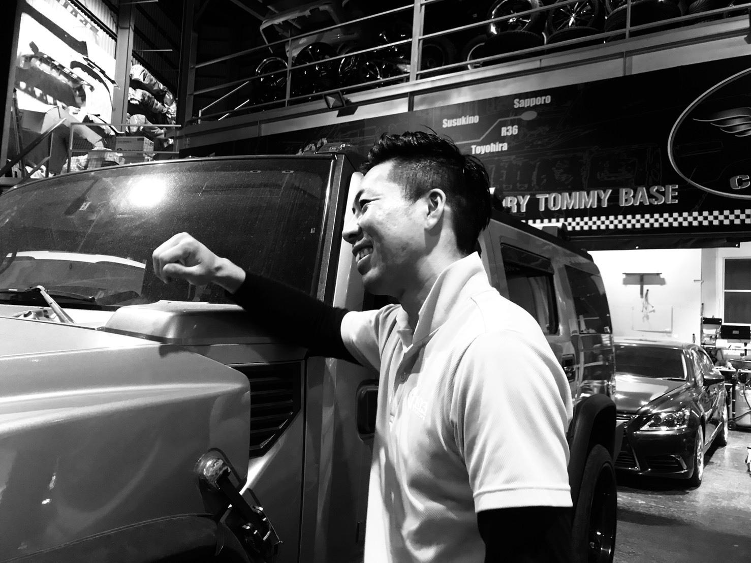 6月8日(金)トミーベース カスタムブログ☆ハマーH2 エスカレード続々入庫☆N様ラングらーご成約☆_b0127002_10544483.jpg