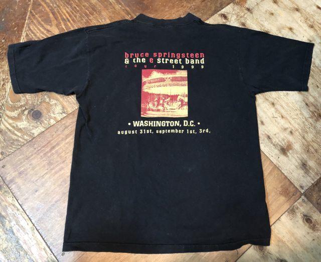 6月9日(土)入荷! 1999年 MADE IN U.S.A  Bruce Spring steen &E street band Tシャツ! _c0144020_13422884.jpg