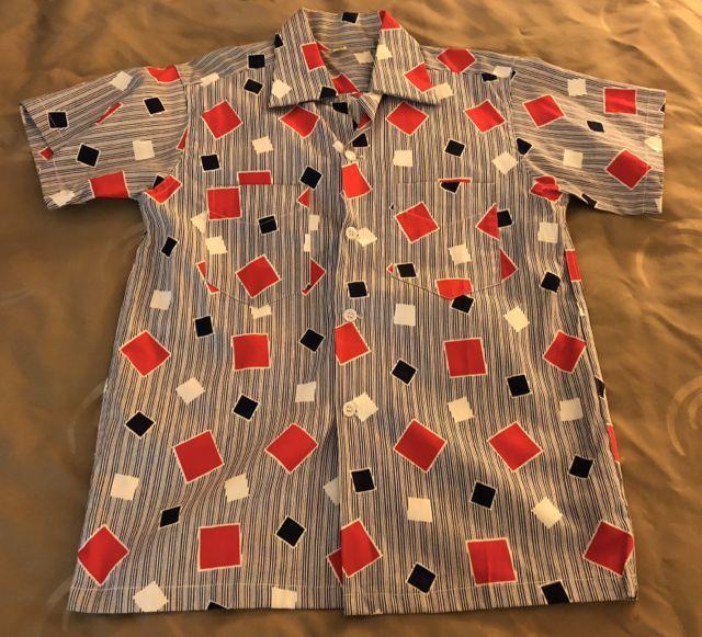 6月9日(土)入荷!50s all cotton オープンカラーボックスシルエット シャツ!_c0144020_13535890.jpg