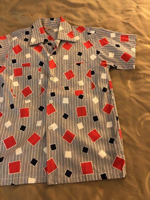 6月9日(土)入荷!50s all cotton オープンカラーボックスシルエット シャツ!_c0144020_13540081.jpg