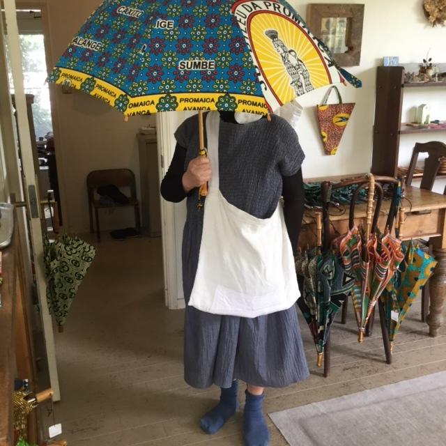 本日最終日です!/アフリカンバティックの傘展_b0207631_07355082.jpg