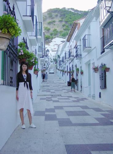 白いコートはスペイン、アルハンブラ宮殿へのオマージュ_a0138976_14444085.jpg