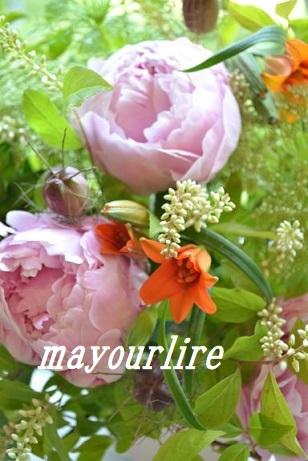 5月 マユールライラ テーブルコーディネート&フラワー教室 フラワー編_d0169179_22473622.jpg