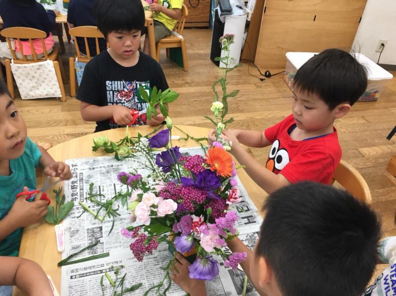 子どもの日・花の日礼拝_f0324461_20441136.jpg
