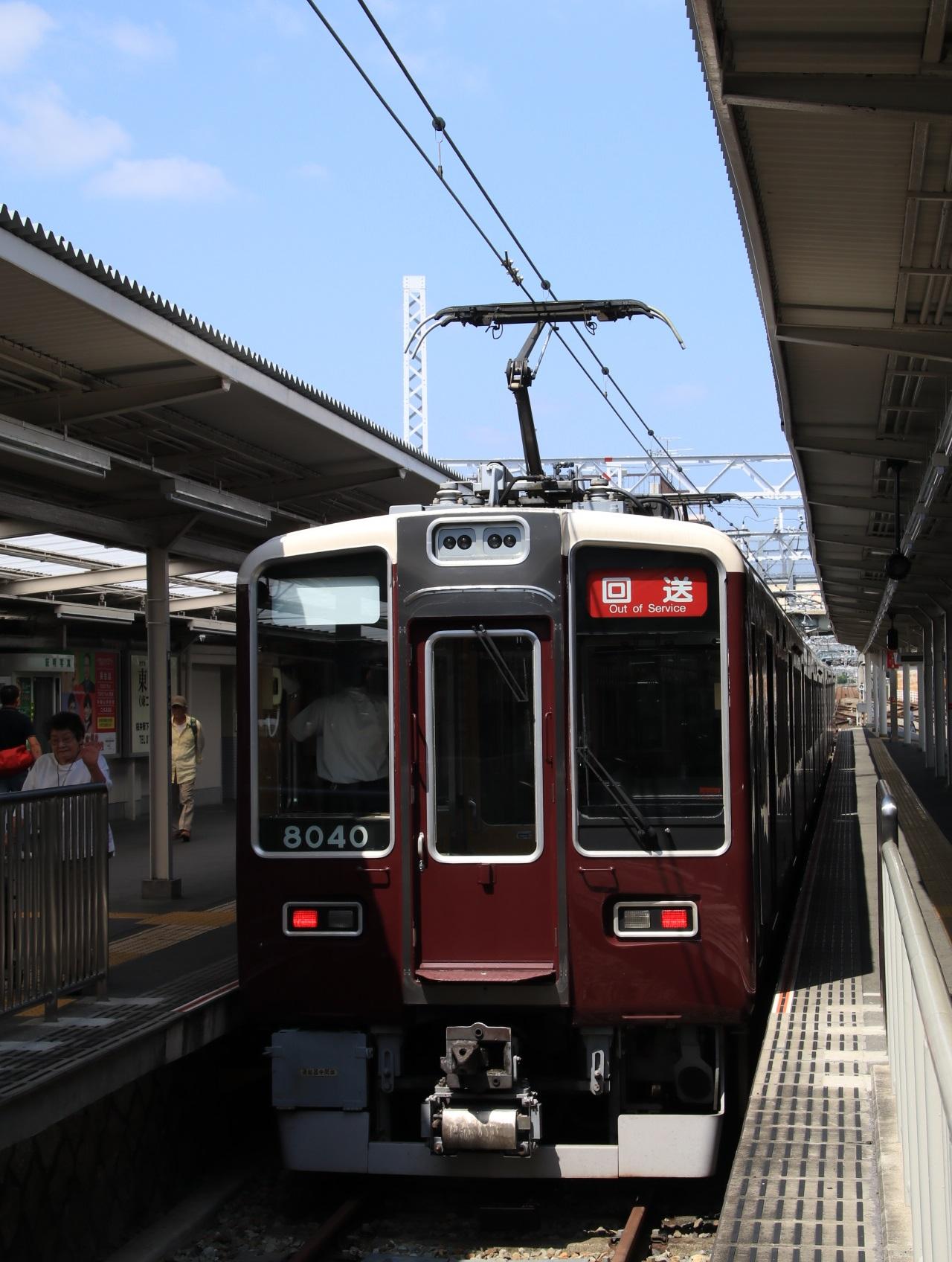 阪急箕面線 車両交換 _d0202264_2055117.jpg