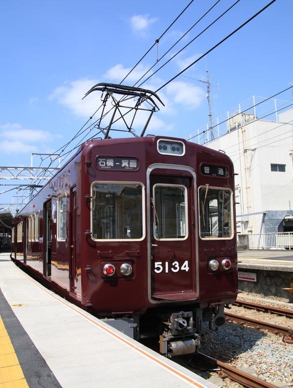 阪急箕面線 車両交換 _d0202264_2064033.jpg