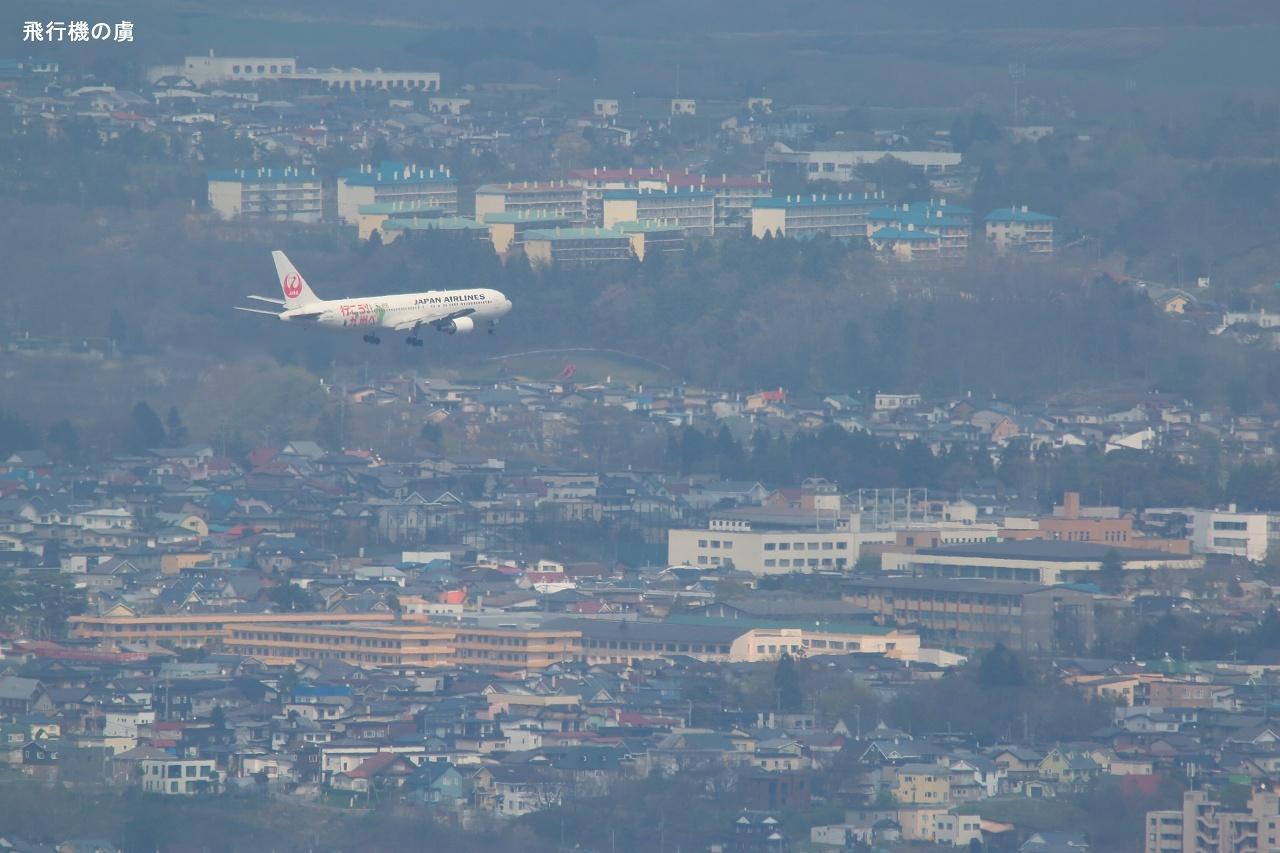 函館山から  B767  日本航空(JL)_b0313338_22323960.jpg