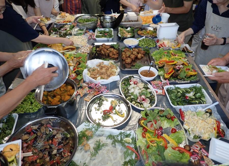 華農園(市民農園)の収穫祭&ホタルの夕べ_f0059673_20361134.jpg