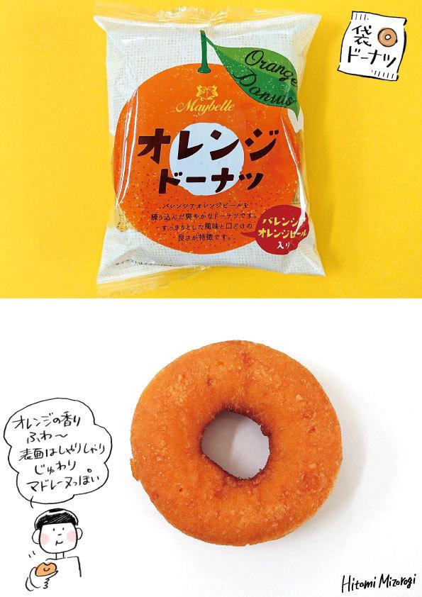 【袋ドーナツ】丸中製菓「オレンジドーナツ」【マドレーヌっぽい】_d0272182_08403380.jpg