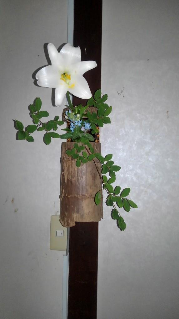 邸内に生けられた花 6月_d0344754_21342256.jpg