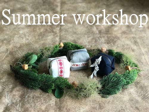 Summer workshop 2018のお知らせです_d0091671_09114359.jpg