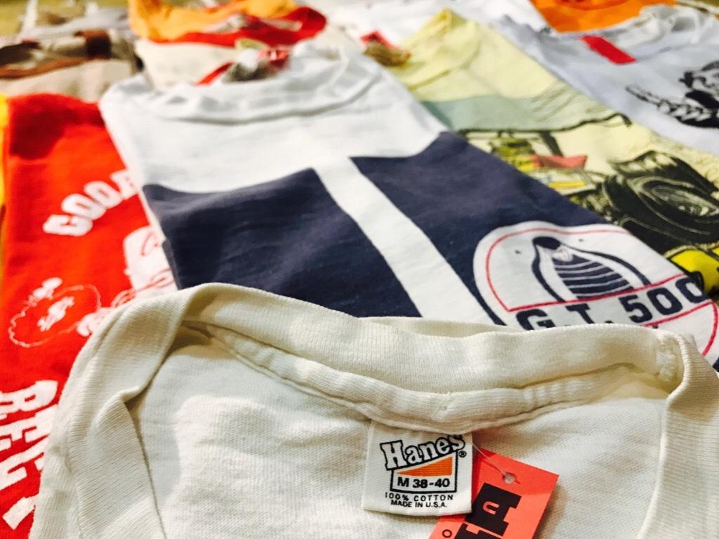 神戸店6/13(水)Vintage入荷! #5 Vintage T-Shirt Part1!Hanes!!!_c0078587_18050416.jpg