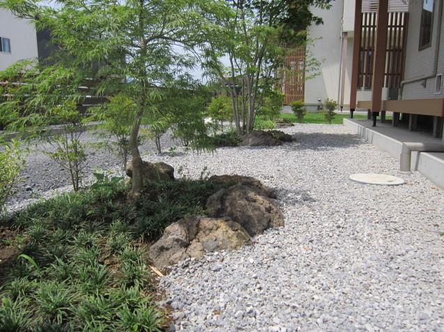 群馬太田市 O 邸 完成しました( *´艸`)  お洒落なお庭作りはGarden Flowにお任せください!_e0361918_14082840.jpg