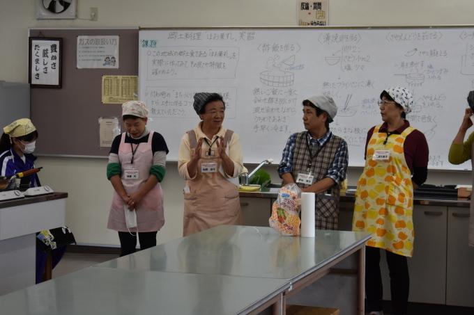 中学校で行われた郷土料理体験に参加してきました_c0238069_14320847.jpg
