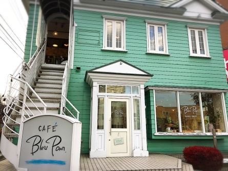 CAFE Bleu Paon/札幌市 白石区_c0378174_20084391.jpg
