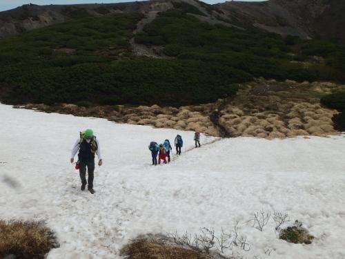 羊蹄山登頂100回達成祝賀登山会、2018.6.10ー同行者からの写真ー_f0138096_20263196.jpg