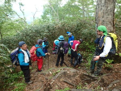 羊蹄山登頂100回達成祝賀登山会、2018.6.10ー同行者からの写真ー_f0138096_20263995.jpg