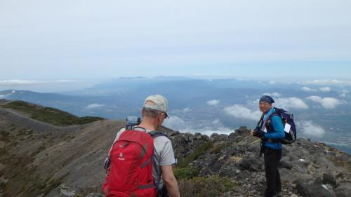 羊蹄山登頂100回達成祝賀登山会、2018.6.10ー同行者からの写真ー_f0138096_20270696.jpg