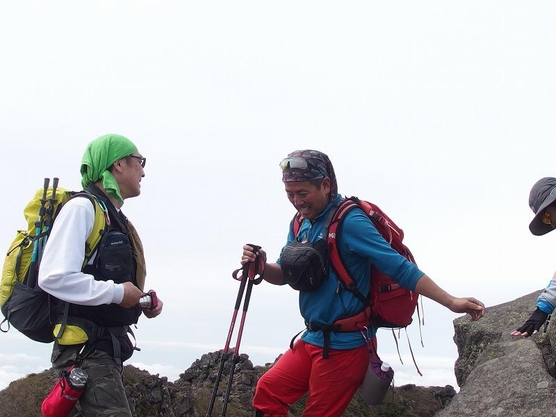 羊蹄山登頂100回達成祝賀登山会、2018.6.10ー同行者からの写真ー_f0138096_20275494.jpg
