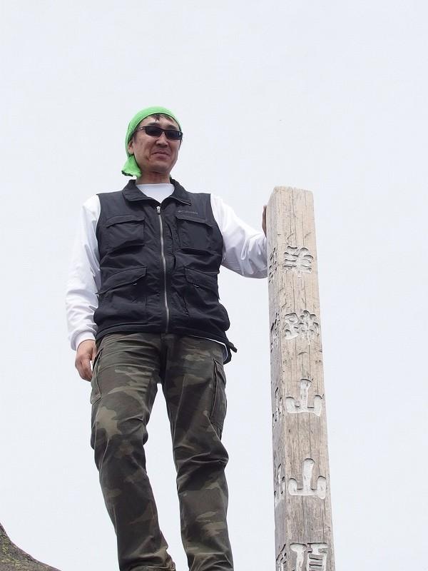 羊蹄山登頂100回達成祝賀登山会、2018.6.10ー同行者からの写真ー_f0138096_20280403.jpg