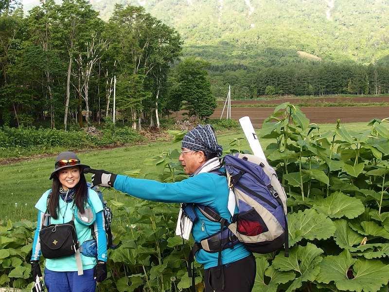 羊蹄山登頂100回達成祝賀登山会、2018.6.10ー同行者からの写真ー_f0138096_20280910.jpg